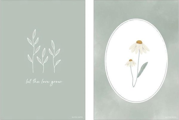 Poster Little Dutch | Wild Flowers