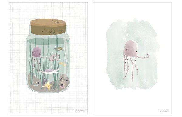 Poster Little Dutch | Mini Ocean Jar